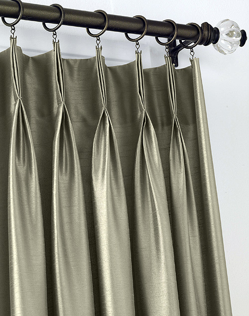 What Is Pinch Pleat Curtains French Pleat Curtains